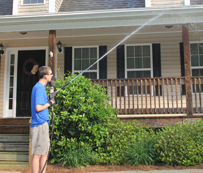House Washing - Athens pressure washing