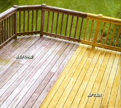 Deck Cleaning - Sealing / Staining For Athens & North Georgia