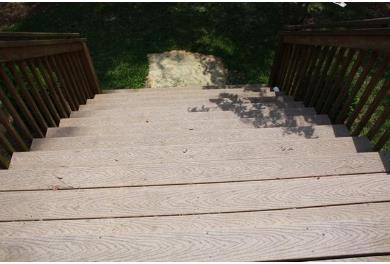 Athens deck pressure washing